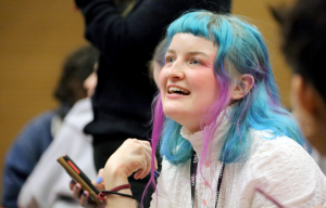 Image: student at CSM workshop